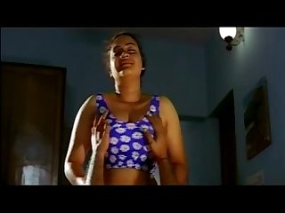 mallu beauty roshani romance with boob show